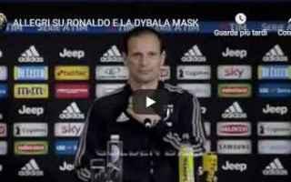 Serie A: allegri juventus ronaldo calcio video