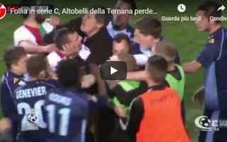 albinoleffa ternana video rissa calcio
