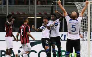 Serie A: atalanta milan streaming