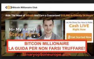 btc bitcoin millionaire club truffa