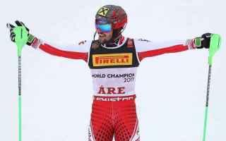 I mondiali di Are si chiudono, con il dominio di Marcel Hirscher nello slalom speciale, che si è la
