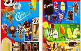 gelati  algida  kinder  snack