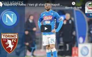 Serie A: napoli torino video calcio gol