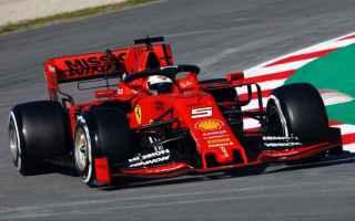 Dominio di Sebastian Vettel, che in 1.18.161 ha conquistato la miglior prestazione, della 1 giornata