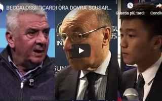 Serie A: video inter beccalossi icardi calcio