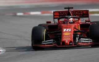 La Ferrari continua ad impressionare nei test di Barcellona, infatti Charles Leclerc ha chiuso il da