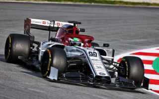 f1  formula1  alfa romeo  giovinazzi