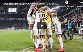 Champions League: juventus juve gol calcio video