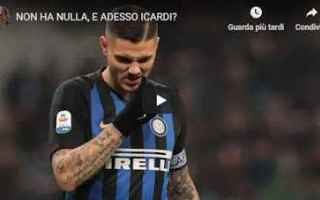 Calcio: inter  icardi  video  pellegatti  calcio