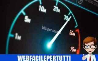 adsl  velocità  megabyte  megabit