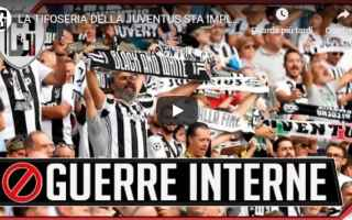 Calcio: juventus chievo video gol tifosi