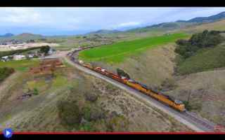 Tecnologie: treni  droni  riprese  ferrovia  motori