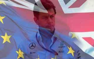 Formula 1: f1  brexit  mercedes  wolff  politica