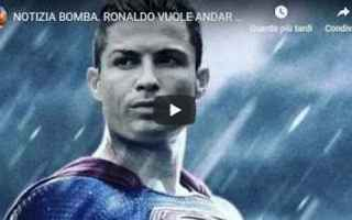 Calciomercato: ronaldo cr7 juventus juve video