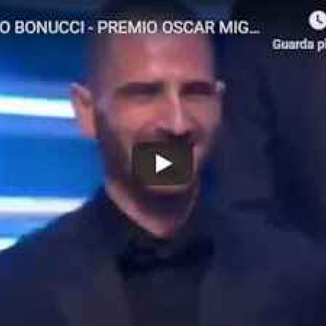 video bonucci premio oscar calcio