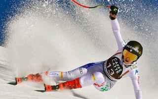 Nella discesa libera di Crans-Montana, Sofia Goggia celebra lanniversario delloro olimpico dellanno