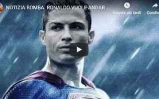 Calciomercato: juventus juve calcio video ronaldo