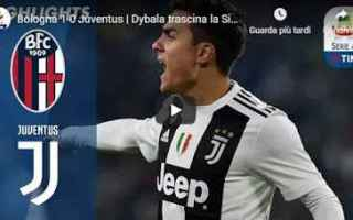 Serie A: bologna juventus video gol calcio