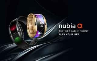 Cellulari: nubia alpha  smartphone  smartwatch  mwc