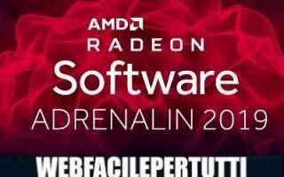 Software: driver  radeon software adrenaline  amd