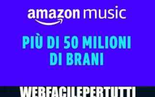 Amazon: amazon music unlimited gratis