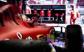 Sebastian Vettel era sceso in pista poco dopo le ore 9 e aveva iniziato il proprio programma di lavo