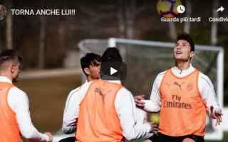 Serie A: milan calcio video pellegatti