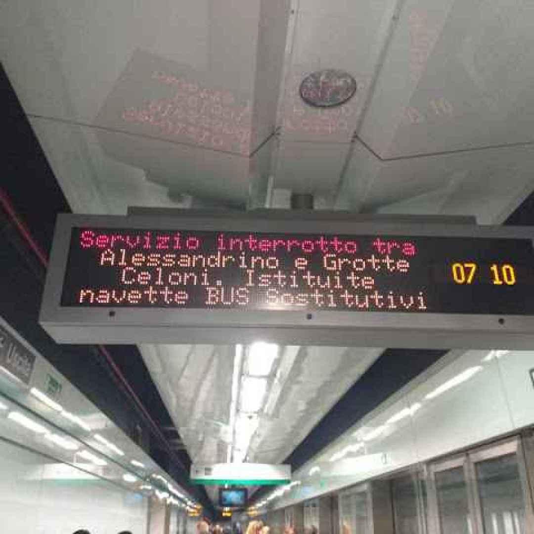 atac  roma  trasporto pubblico  metro c