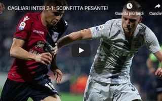Serie A: cagliari inter video calcio pellegatti