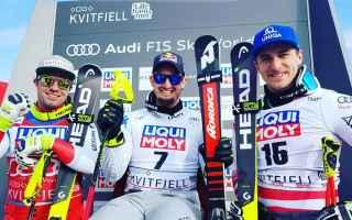 LItalia è scatenata in questo finale di stagione, Dominik Paris vince la discesa libera di Kvitfjel
