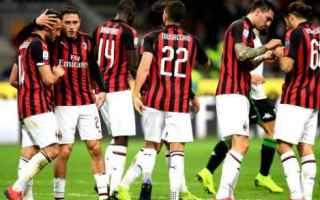 Calcio: milan calcio sassuolo inter serie a