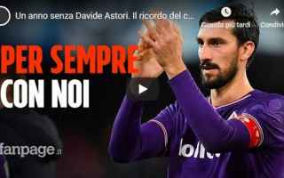 Calcio: davide astori video calcio fiorentina