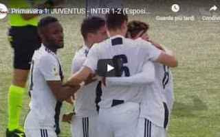 Serie minori: juventus inter video gol calcio