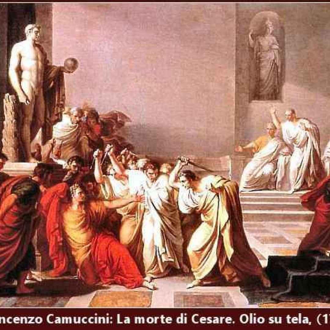 gaio giulio cesare  idi di marzo  roma