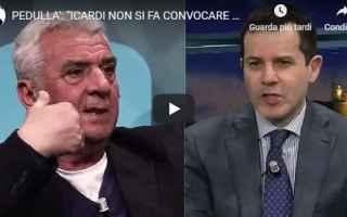 Calcio: icardi inter pedullà calcio video