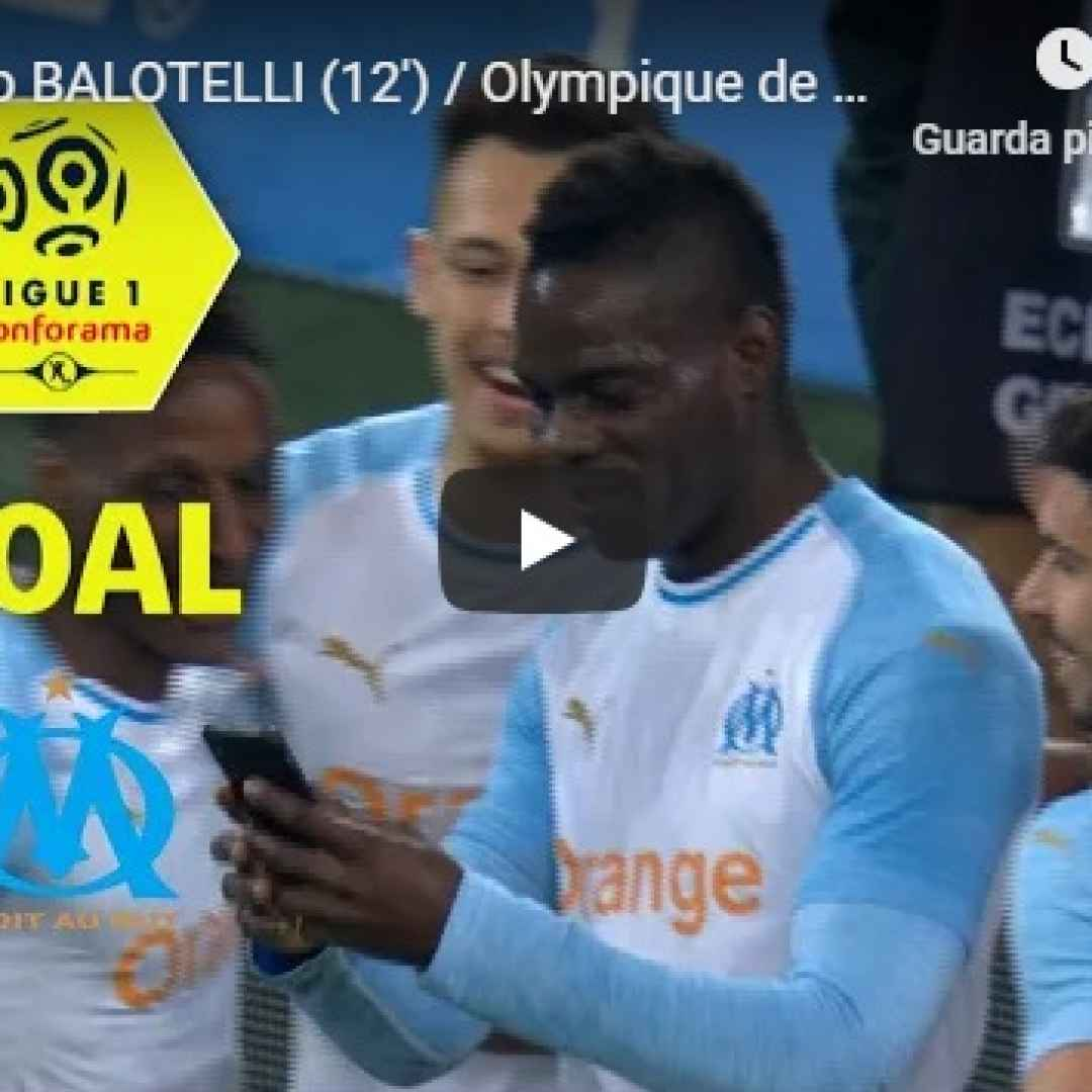balotelli  video  gol  calcio  social