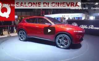 Automobili: alfa romeo video suv motori auto