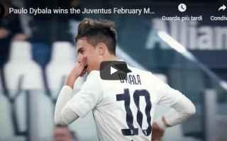 Calcio: juventus juve calcio video dybala
