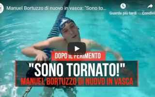 Sport: manuel bortuzzo nuoto video sport