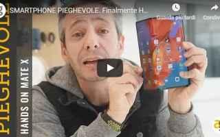 Cellulari: smartphone huawei mate x video