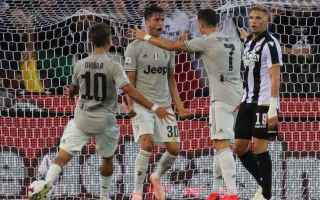 Serie A: juventus udinese streaming