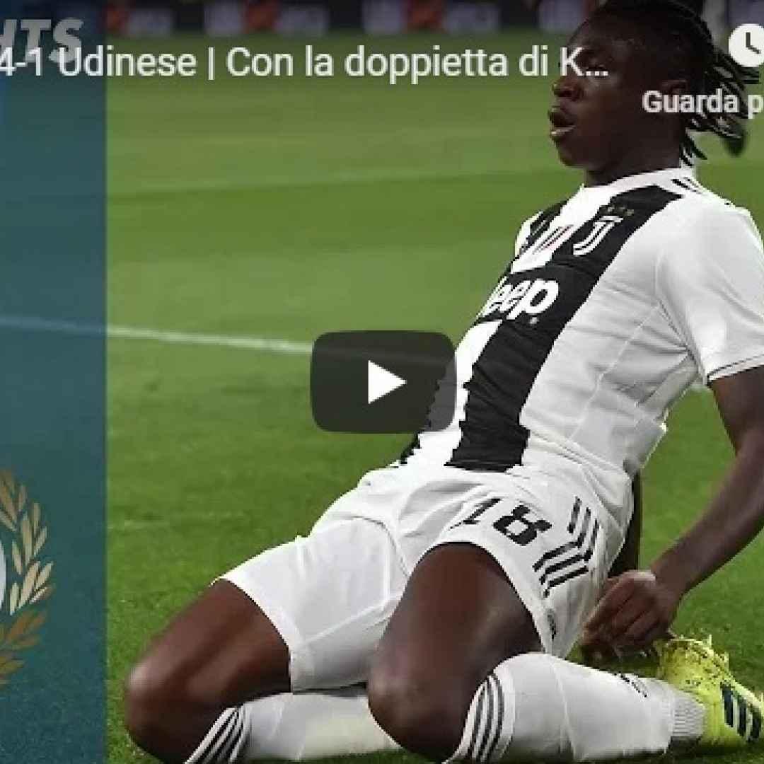 juventus udinese video gol calcio
