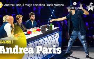 Televisione: video tv frank matano talent