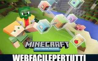 Giochi: minecraft education edition  minecraft