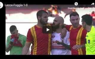 Serie B: lecce foggia video gol calcio