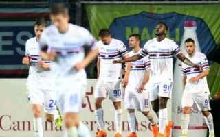 sampdoria atalanta streaming