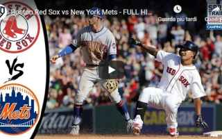 Sport: boston new york video mlb baseball