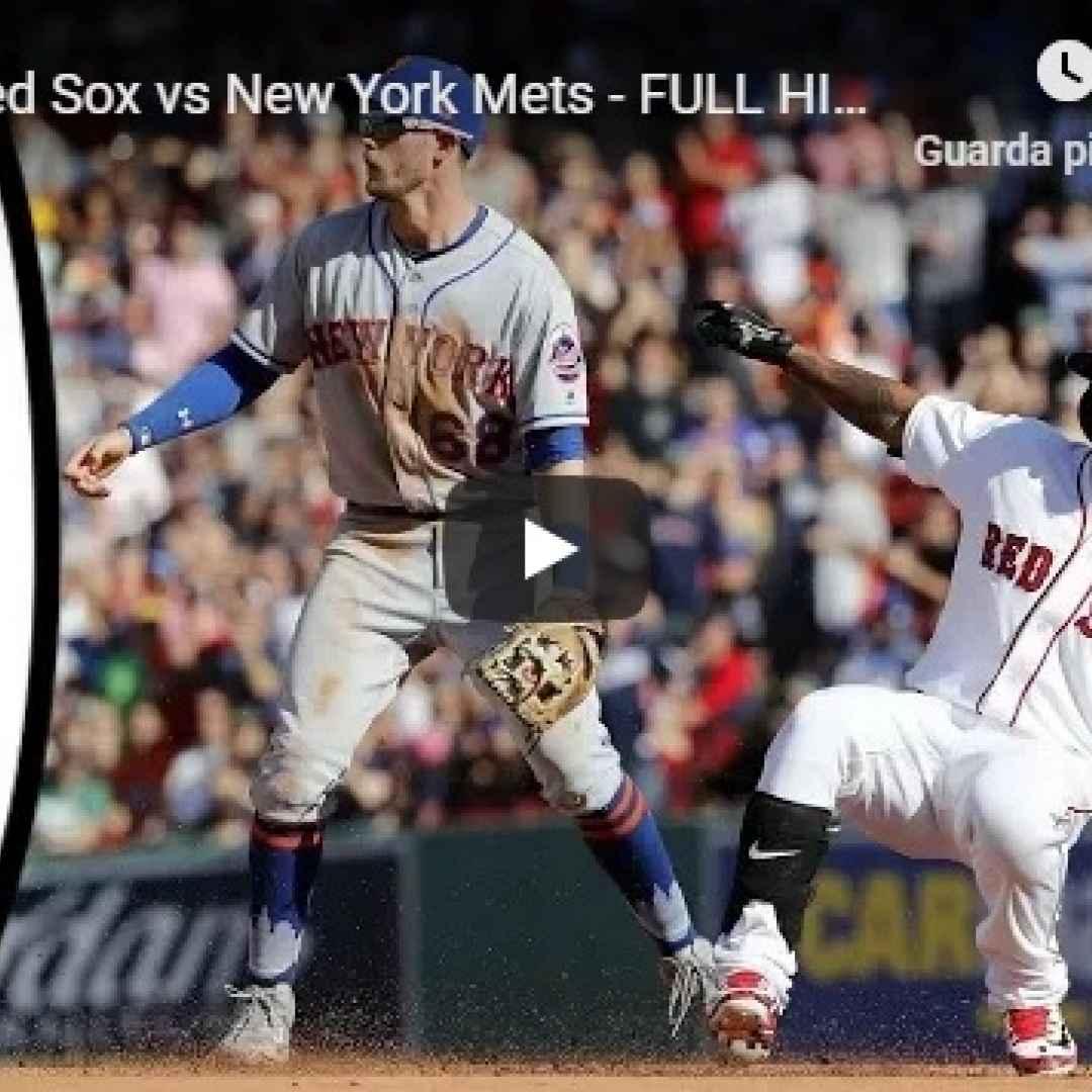 boston new york video mlb baseball