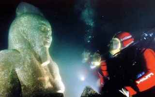 Storia: heracleion  iside  stele  thonis