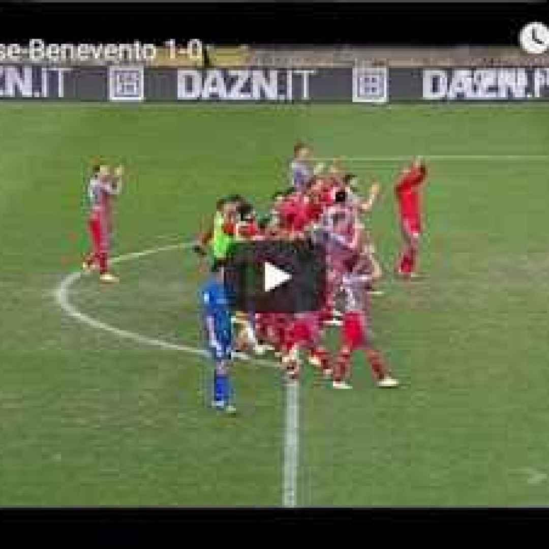 cremonese benevento video gol calcio